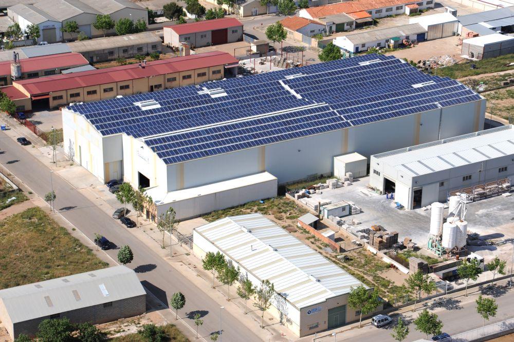 Cubierta Fotovoltaica De 300KW En Cintruénigo (Navarra)