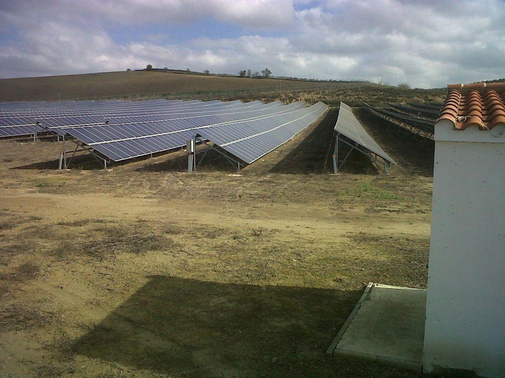 Parque Solar Fotovoltaico Jerez De La Frontera (Cahíz)