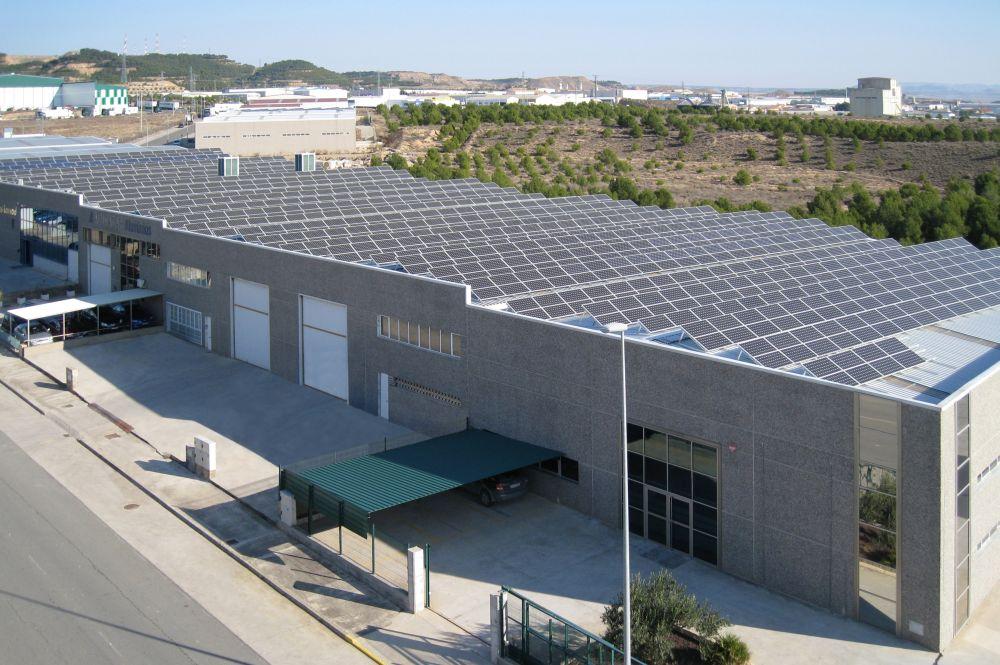 Cubierta Fotovoltaica De 350KW En Tudela (Navarra)