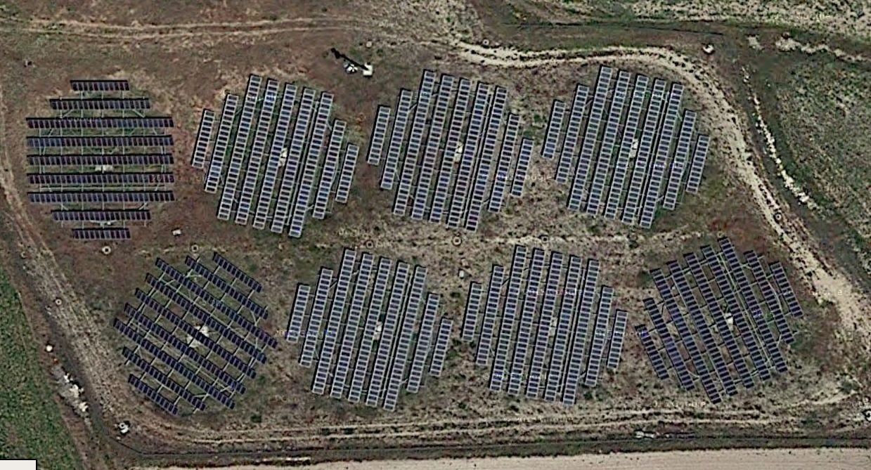 Parque Solar Fotovoltaico La Muela (Aragón)